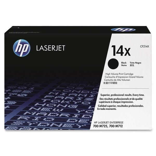 HP 14X (CF214X) High Yield Black Original LaserJet Toner Cartridge