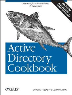 Active Directory Cookbook (Paperback)
