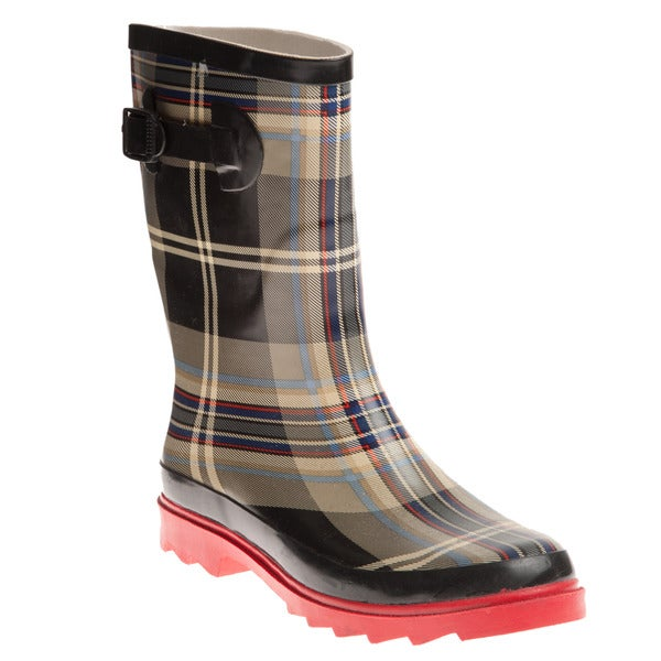 Model  Description Page  Women39s Western Chief Buffalo Plaid Rain Boots