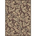 Paradise Light Brown Viscose Rug (4' x 5'7)