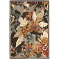 Paradise Dark Brown Viscose Rug (2' 7 x 4')