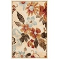 Paradise Cream Viscose Rug (2&#39; 7 x 4&#39;)
