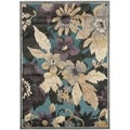 Paradise Gray Viscose Area Rug (8' x 11'2)