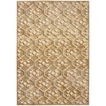 Paradise Taupe Viscose Rug (4&#39; x 5&#39; 7)