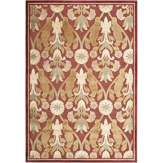 Safavieh Paradise Red Viscose Rug (5' 3 x 7' 6)