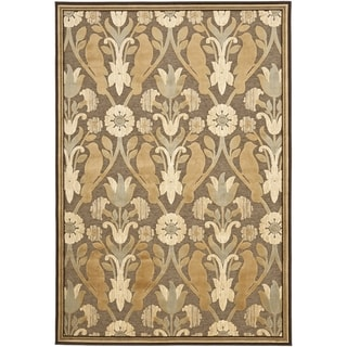 Paradise Brown Viscose Rug (8' x 11' 2)