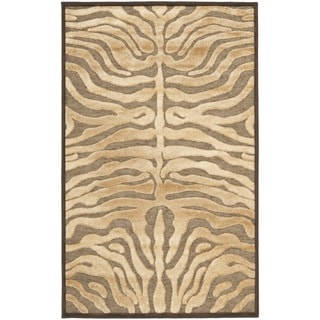 Safavieh Paradise Tiger Mocha Brown Viscose Rug (2' 7 x 4')