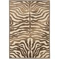 Paradise Tiger Cream Viscose Rug (8' x 11' 2)