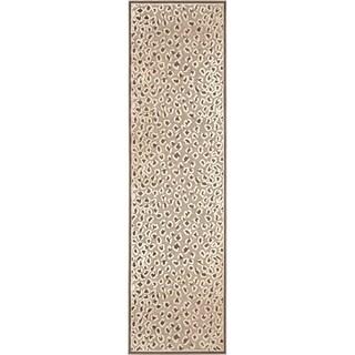 Safavieh Paradise Leopard Light Brown Viscose Rug (2' 2 x 8')