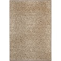 Paradise Leopard Light Brown Viscose Rug (4' x 5' 7)