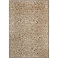Paradise Leopard Light Brown Viscose Rug (5' 3 x 7' 6)