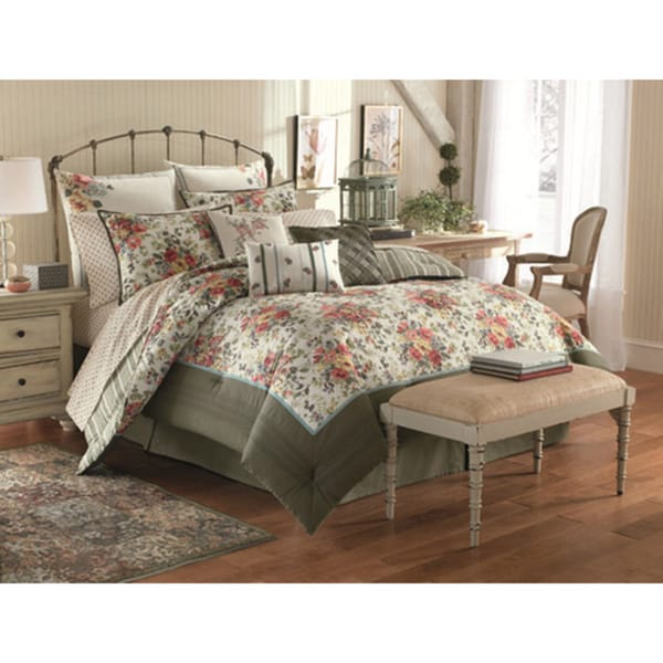 Laura Ashley Wakefield 4-piece Comforter Set