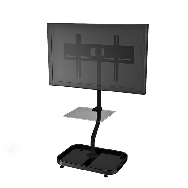 Cotytech Adjustable Ergonomic TV Stand For 32 to 46 Inches With Shelf