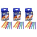 Dixon Prang Hygieia Assorted Colors Dustless Board Chalk (Pack of 36)