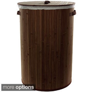 Bamboo Laundry Hamper (China)
