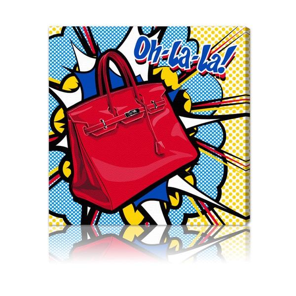 Oliver Gal 'Oh La La' Canvas Pop Art Decor