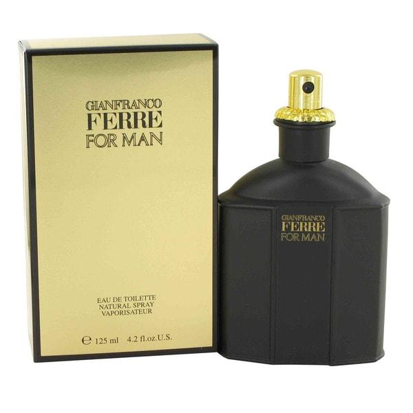 Gianfranco Ferre Men's 4.2-ounce Eau de Toilette Spray