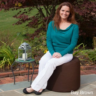 Outdoor/Indoor Weather Resistant Ottoman