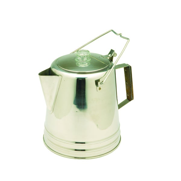 Texsport Stainless Steel 28-cup Percolator 10537439