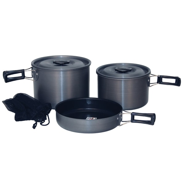 Texsport Trailblazer Black Ice Cook Set