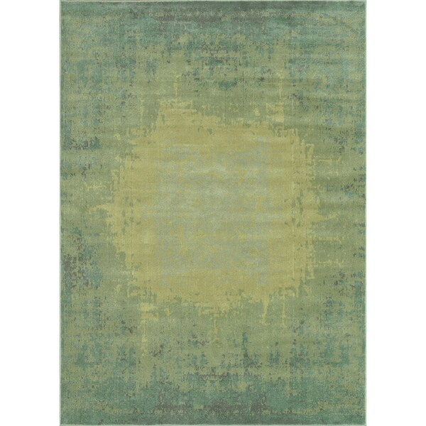 Royalty Sea/ Green Rug (7'7 x 10'5)