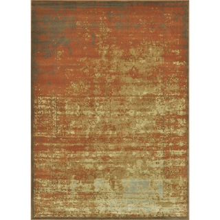 Royalty Rust/ Gold Rug (3'9 x 5'6)
