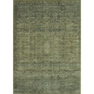 Royalty Taupe/ Slate Rug (7'7 x 10'5)