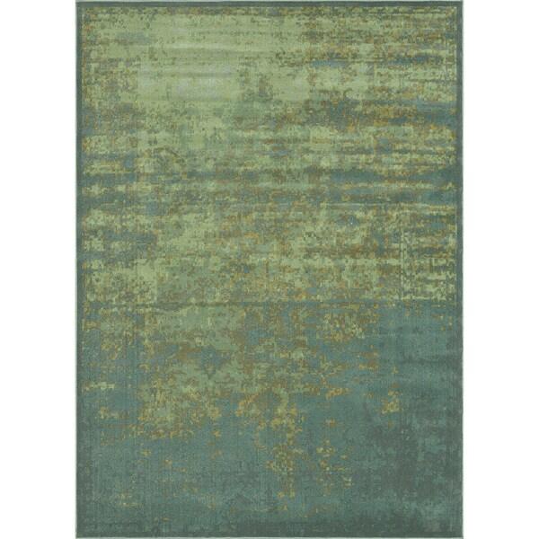 Royalty Sea/ Blue Rug (3'9 x 5'6)