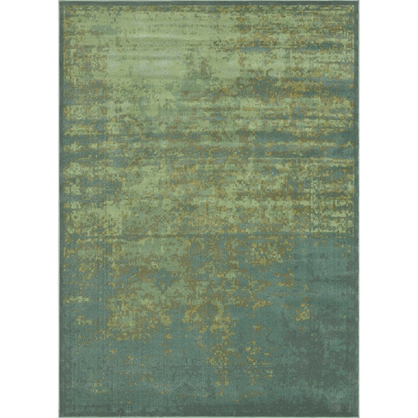 Royalty Sea/ Blue Rug (9'8 x 12'8)