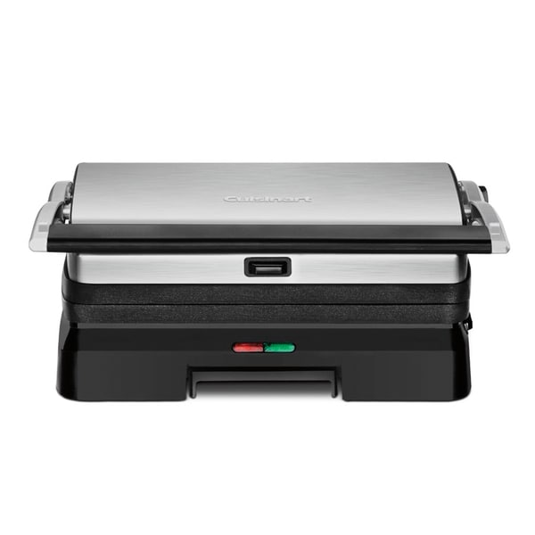 Cuisinart(R) Griddler(R) Grill & Panini Press - GR-11 , Black/Brushed 15137311