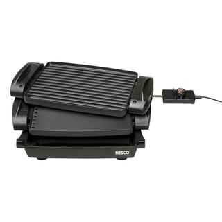 Nesco RG-1400 Black 1400-watt Reversible Grill/Griddle
