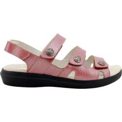 Women's Propet Bahama Metallic Rose Emu