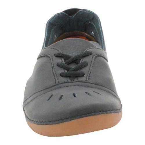 Women's Propet Lark Black Lace Up Slip On Shoe
