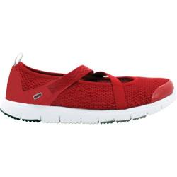 Women's Propet Travelwalker Mary Jane Red