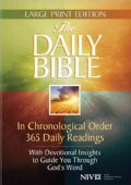 The Daily Bible: New International Version (Hardcover)