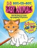 3-D Dot-to-Dot Baby Animals (Paperback)