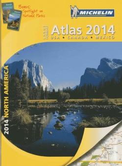 Michelin 2014 Large Format Atlas North America: USA, Canada, Mexico (Paperback)