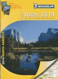 Michelin 2014 Large Format Atlas North America: USA, Canada, Mexico (Paperback)