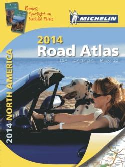 Michelin 2014 Road Atlas North America: USA, Canada, Mexico (Spiral bound)