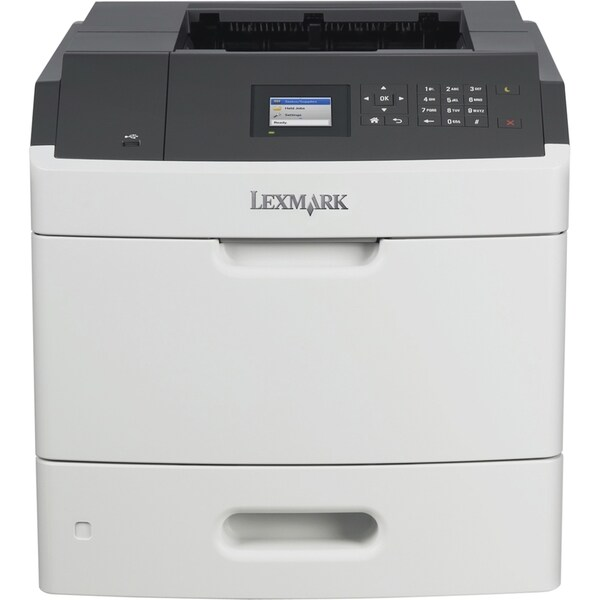 Lexmark MS810DN Laser Printer - Monochrome - 1200 x 1200 dpi Print -