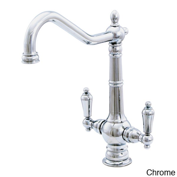Water Creation Single Hole Elegant Spout Bathroom Faucet