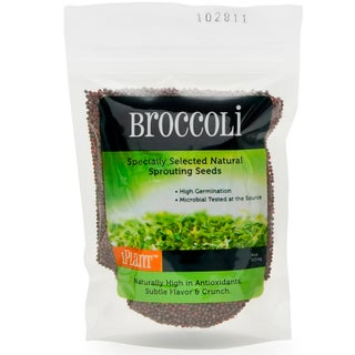 iPlant Broccoli Sprout Seeds (4-ounce bag)