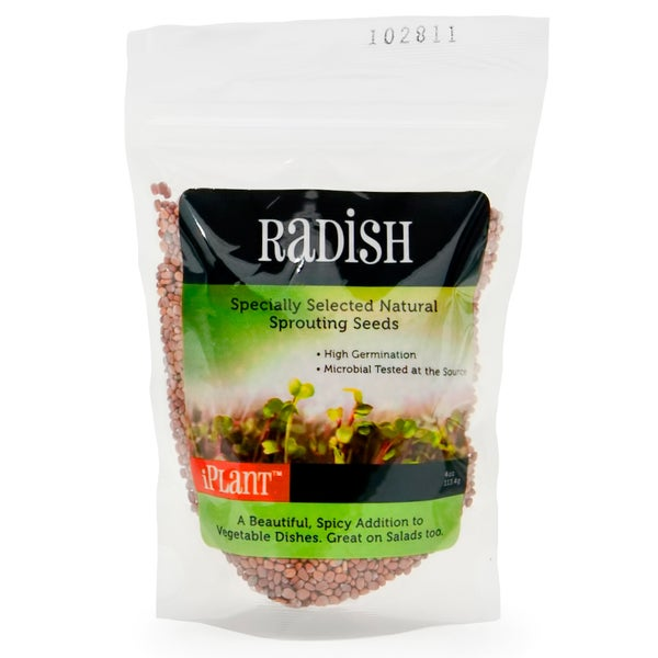 iPlant Radish Sprout Seeds (4-ounce bag)
