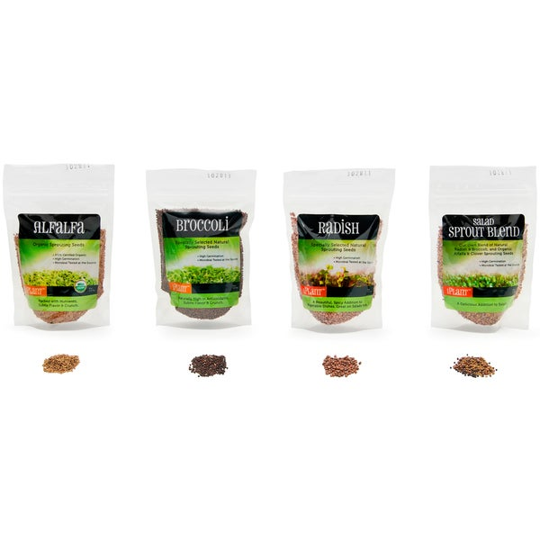 iPlant Variety Pack Sprout Seeds (16-ounces)