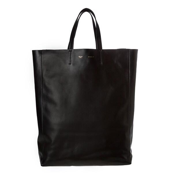 celine large leather tote
