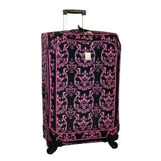 Jenni Chan Damask 28-inch 360 Quattro Spinner Upright