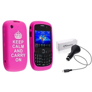 BasAcc Case/ Retractable Car Charger for BlackBerry Curve 8520/ 9300