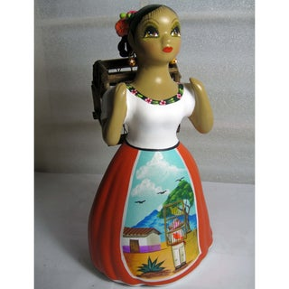 Handcrafted Traditional Mexican Lupita Doll (Mexico)