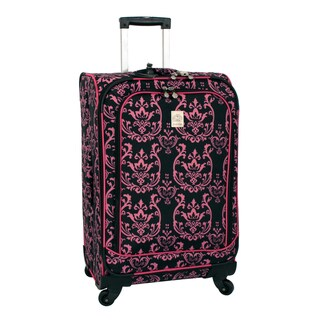 Jenni Chan Damask 25-inch 360 Quattro Spinner Upright