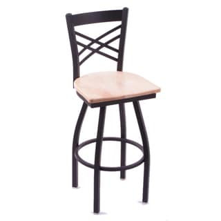 Cambridge Natural Maple Extra Tall Swivel Barstool